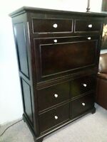 REDUCED!BRAND NEW!! ALL IN ONE-COMPUTER DESK ARMOIRE-SPACE SAVER