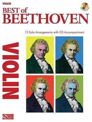 Best of Beethoven Instrumental Book and CD NEW