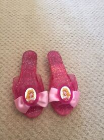 Brand new Disney princess shoes 8-10