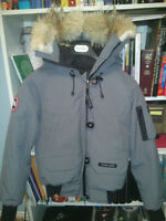 Canada Goose- small, grey coat for women