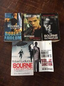 The Bourne - Robert Ludlum - 5 books