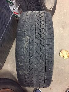 Winter tires with rims  205/55/16 from Audi A4  London Ontario image 3