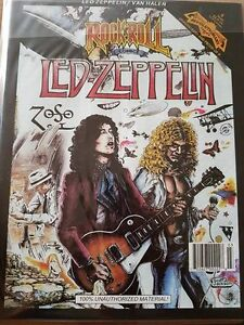 Led Zeppelin Comic Book