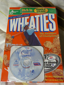 Wheaties collectible Tiger Woods cereal boxes West Island Greater Montréal image 5