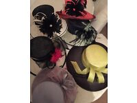 Ladies hats! Wedding, races, formal occasions. Final reduction as need gone!
