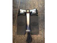 Mini side stepper fitness machine