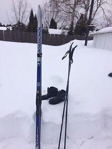 Ski de fond , ensemble Rossignol,
