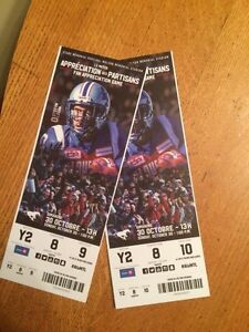 Alouettes  tickets