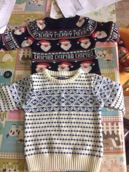 Boys Christmas jumpers