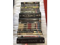 Job lot DVDs - great for boot sales