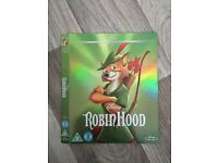 Robin Hood Disney Blu-Ray Sleeve (Cover Only)