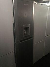 BEKO silver good looking frost free A-class fridge freezer cheap
