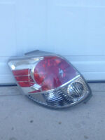 2005 Toyota Matrix Rear Left Light