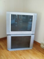 32 inch Sony Television and Stand