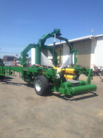 Used McHale 998 High Capacity Large Square Bale Wrapper
