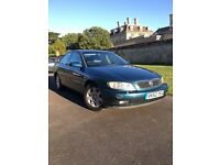 2002 Vauxhall Omega 2.2 automatic - top spec - low low miles - jan 17 MOT