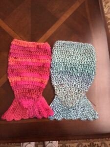 American Girl hand crocheted mermaid Tails