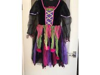 Halloween witches dress 10-11
