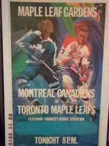 Original Maple Leaf Gradens Toronto Maple Leafs vs Montreal Cana