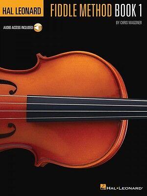 Hal Leonard Fiddle Method Sheet Music Violin Instruction Book / Audio 000311416
