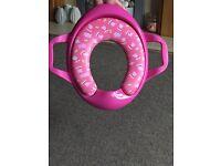 Peppa pig toilet seat