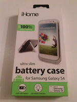iHome Technology Extended Battery Case for The Samsung S4