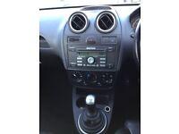 Ford Fiesta Zetec 1.6TDCi090 Good / Bad Credit Car Finance (black) 2008