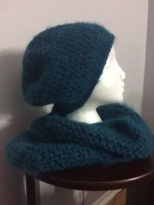 Various crocheted hats, scarves, headbands, cowls Kitchener / Waterloo Kitchener Area image 7