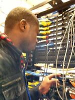 data network cabling installation