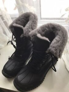 Winter boots Uggs worn twice