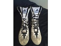 Adidas boxing boots size 7