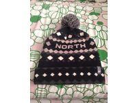 THE NORTH FACE JACQUARD BOBBLE HAT