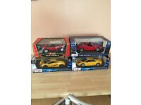 1/18 scale model cars toys x4