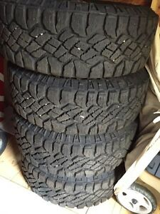 Goodyear Duratrac tires like new