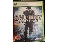 Call of duty world at war Xbox 360/Xbox one