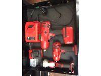 Snap-on 18v cordless impact wrench set