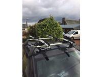 Vauxhall roof bars and Thule cycle racks