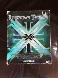 XCOM UFO Unknown + Terror of the Deep