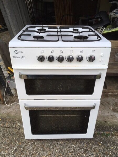 Gas cooker 60cm wide