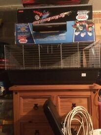 Indoor rabbit/ guninea pig cage
