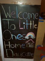 Little Ones Home Daycare!