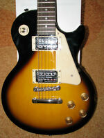 epiphone LP-100 electric guitar sunburst/new/great gift/reduced