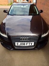Audi A4 2.0 TDI 2008 saloon in good condition