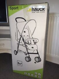 Hauck sport pushchair BRAND NEW IN BOX