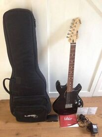 line 6 variax 300 guitar with usb interface adapter £250 ONO