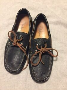 Cole Haan boat shoes with Nike air sz 7