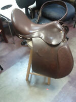 Adult English Leather Saddle