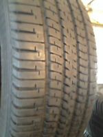 Set of 4 Goodyear Summer tires 215/70/15