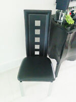 Contemporary Dinning Chairs x 4