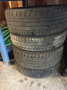 """Smart ForTwo-Alloy Rims and """"like new"""" tires (OBO) Kitchener / Waterloo Kitchener Area image 2"""